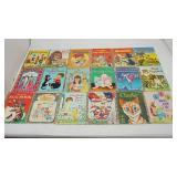 Eighteen Little Golden Books From 1974