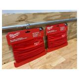 MILWAUKEE Lot of 2-  Red Multi-Functional Neck Gaiters