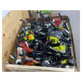 Crate of Gas Powered Lawn Equipment