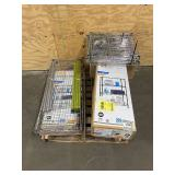 Pallet of Various Wire Shelving