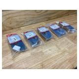 MILWAUKEE Lot of 5-  Heavy Duty Nylon Slings (1 IN X 6 FT).