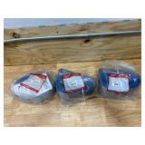 MILWAUKEE Lot of 3-  Heavy Duty Nylon Slings (4 IN X 15 FT)