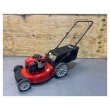 TROY-BILT 21 in. 140cc 550ex Series Briggs & Stratton Engine 2-in-1 Gas Walk Behind Push Lawn Mower with High Rear Wheels