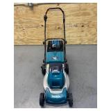 MAKITA 18 in. 18-Volt X2 (36-Volt) LXT Lithium-Ion Cordless Walk Behind Push Mower Kit with 2 Batteries (4.0 Ah) and Charger