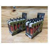 BRACKETRON Lot of 2 Cases of- Shotgun Shell Reload Single Shot 2.4 Amp Car Chargers (10 per case)