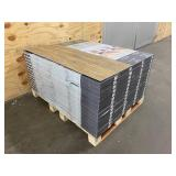 UNITED WEAVERS Lot of 56 Cases of- Heirloom Collection 100% Waterproof Luxury Vinyl Plank Flooring in Mohican (18 sq ft per case)