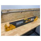TOUGHBUILT 42.4 in. W Adjustable Height (25-32 in.) Steel Sawhorse and Jobsite Table – 1300 lb. Capacity
