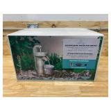 GARDENIQUE Farmhouse Spigot Disappearing Kit 20.39-in H Resin Fountain Statue Outdoor Fountain