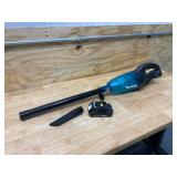 MAKITA 18-Volt LXT Lithium-ion Handheld Cordless Vacuum with Battery