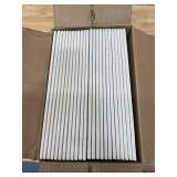 DALTILE Lot of 3 Cases of-  Restore 3 in. x 12 in. Ceramic Bright White Subway Tile (12 sq. ft. / Case)