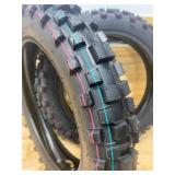 Set of Knobby Tires for Off Road Mini Dirt Bike (front or rear)