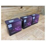PHILIPS Lot of 3-  White and Color Ambiance Lightstrips (2 different models)