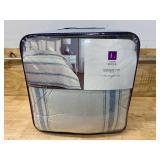 Farmhouse Stripe Comforter Set - Lush Décor (King)
