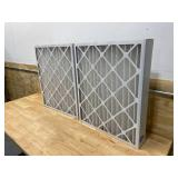 NORDIC PURE 20x24x4 MERV 12 Pleated AC Furnace Air Filters 2 Pack