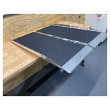 PVI Single-Fold Aluminum Threshold Ramp — 800-Lb. Capacity, 3ft.L x 30in.W
