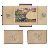 RECHIATO 1000 Piece Jigsaw Puzzle Board Portable Table