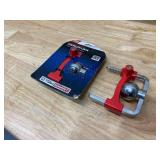 """TOWSMART Lot of 2-  Trailer Coupler Lock - 1-7/8"""", 2"""", and 2-5/16"""" Couplers (no keys)"""