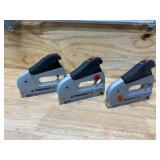 ARROW Lot of 3-  PowerShot 5700 Forward Action Staple Guns