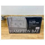 HAMPTON BAY 9 in. Twin Window Fan