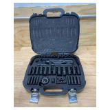 HUSKY 3/8 in. Drive 100-Position Universal SAE and Metric Mechanics Tool Set (60-Piece) (missing a couple of pieces)