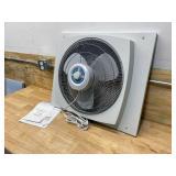 LASKO 16 in. Window Fan with EZ-Dial Ventilation
