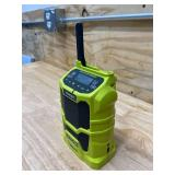 RYOBI ONE+ 18V Cordless Compact Radio with Bluetooth Wireless Technology (Tool-Only)