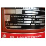 BELL & GOSSETT EXPANSION PRESSURE TANK
