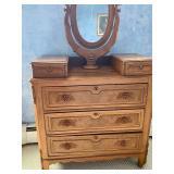 Antique Dresser w/ Mirror