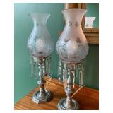 Pair of Vintage Table Top Lamps