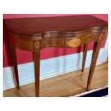Flip Top Vintage Table