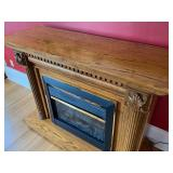 Free Standing Electric Fireplace