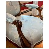 Two Vintage Parlor Armchairs