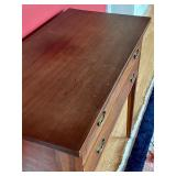 Vintage Two Drawer Table