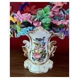 Vintage Beautiful Dresden Vase