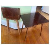 Vintage Folding Side Tables