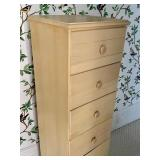 Vintage Painted Lingerie Chest of Drawers