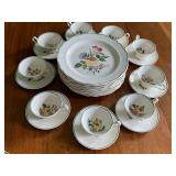 Partial Set of Wedgewood Dishes