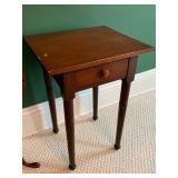 Three Petite Vintage Accent Tables