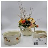 Limited Edition Hall China NALCC Honors Club Autumn Leaf Set