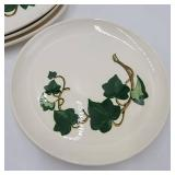 Rare 1940s California Ivy Dishes by Metlox - Poppytrail - Vernon