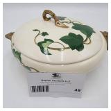 Rare 1940s California Ivy Tureen with Lid by Metlox - Poppytrail - Vernon ($200 Value)