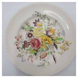 Vintage Garden Bouquet Windsorware Dishes - Service for 4