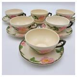 1950s Franciscan Desert Rose Tea Set