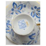 Vintage Clarence Bone Chine Teacup and Saucer