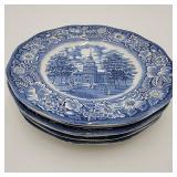 Liberty Blue Plates