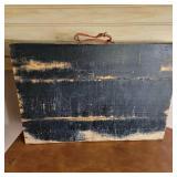 Antique Wooden Travel Box