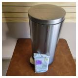 Stainless Steel garbage Can with Step Pedal