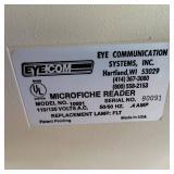 Vintage Eye Com 1000 Portable Microfiche Reader