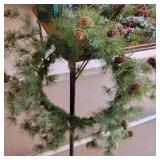 Christmas Decor-Wreaths, Lighted Reindeer and More!!