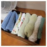 Home Essentials Set-Fan, Towels, Baskets and Mroe!